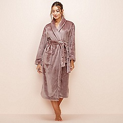 Lounge & Sleep - Taupe dressing gown