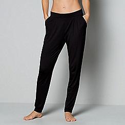 J by Jasper Conran - Black loungewear bottoms