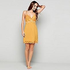 J by Jasper Conran - Gold lace 'Hygge' chemise