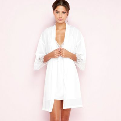 6fa0058cfb The Collection White bridal dressing gown