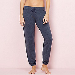 Lounge & Sleep - Navy 'Weekend' loungewear bottoms