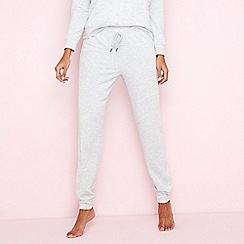 Lounge & Sleep - Grey star embossed loungewear bottoms