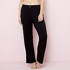 Gorgeous DD+ - Black pyjama bottoms