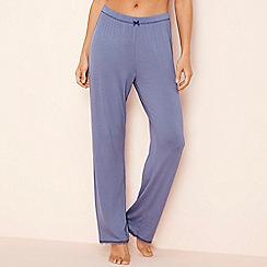 Lounge & Sleep - Blue 'Making Waves' pyjama bottoms