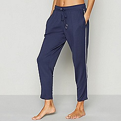 J by Jasper Conran - Navy ankle grazer jogging bottoms
