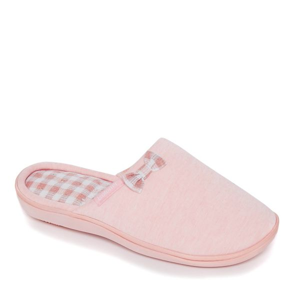 slippers Pink Pillowstep Isotoner Totes mule qPxHWWn