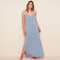 Lounge & Sleep - Pale blue jersey nightdress