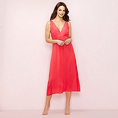 The Collection - Bright pink lace 'Bonita' nightdress