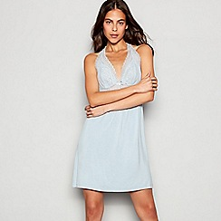 J by Jasper Conran - Light blue lace 'Archive' chemise