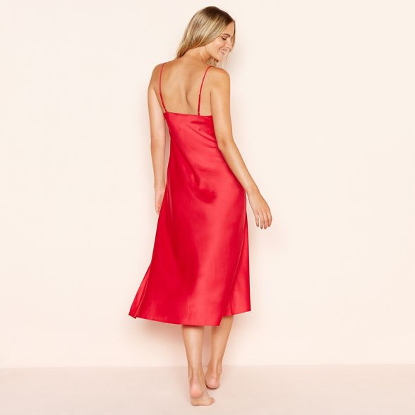 nightdress Collection Red The The silk silk Red Collection The nightdress Collection Red silk ZEqxYFw