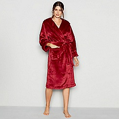 J by Jasper Conran - Red hooded dressing gown