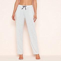 Lounge & Sleep - Grey bow detail pyjama bottoms