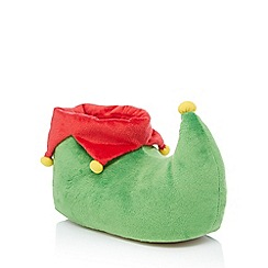 Lounge & Sleep - Green elf slippers