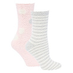 Lounge & Sleep - 2 pack cosy socks