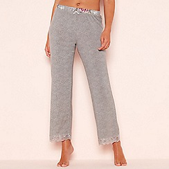 Gorgeous DD+ - Grey 'Frosted' pyjama bottoms