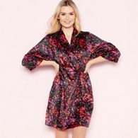 fa322fd372 B by Ted Baker Light pink floral print satin  Painted Posey  kimono ...