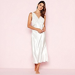 The Collection - White Floral Lace Nightdress