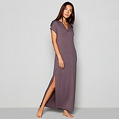 J by Jasper Conran - Grey 'Frost' Lounging Maxi Dress