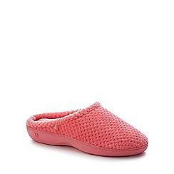 Totes - Pink '360 Surround Comfort' Mule Slippers