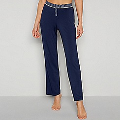 J by Jasper Conran - Navy 'Carlo' Pyjama Bottoms