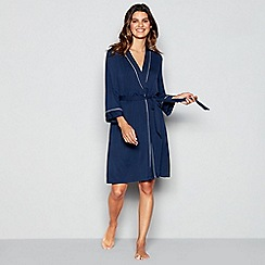 J by Jasper Conran - Navy 'Carlo' Dressing Gown