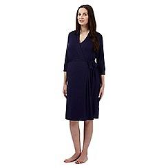 Debenhams - Navy multi-way nursing dressing gown