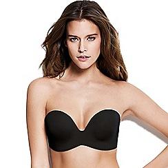 Wonderbra - Black padded strapless bra