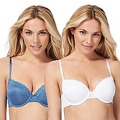 The Collection - 2 pack assorted underwired padded t-shirt bras