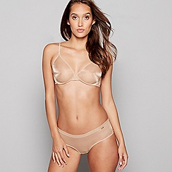 150589ab1a Gossard - Natural mesh  Glossies  underwired non-padded plunge t-shirt bra
