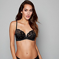 Gossard - Black lace 'Gypsy' underwired non-padded full cup bra