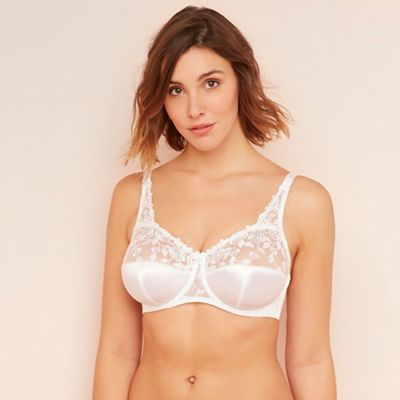 b8342b3f92 Fantasie White  Belle  underwired non-padded full cup bra
