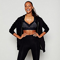 The Collection - Black non-wired padded sports bra