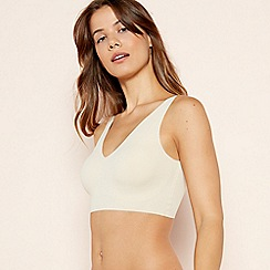 The Collection - Natural Padded Lounge Crop Top
