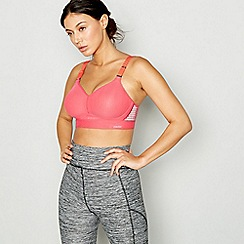 Triumph - Pink Triaction Hybrid Lite sports bra