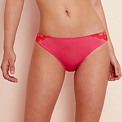 Wonderbra - Bright pink lace  Refined Glamour  Brazilian knickers a3becad51