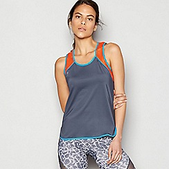 Shock Absorber - Grey 'Activewear' tank top
