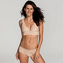DORINA - Natural 'Lana' non-wired non-padded bralette