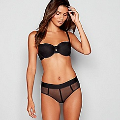 DKNY - Black 'Sheers' padded underwired T-shirt bra