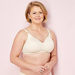 The Collection post-surgery - Natural non-wired non-padded mastectomy t-shirt bra