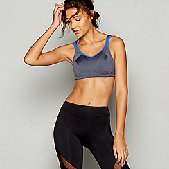 Shock Absorber - Grey active multi sports bra