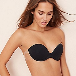 Fashion Forms - Black 'Go Bare' underwired padded stick-on backless bra