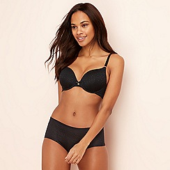 The Collection - Black 'Perfect Fit' underwired padded t-shirt bra
