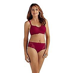 Amoena - Red 'Marie' non wired bra