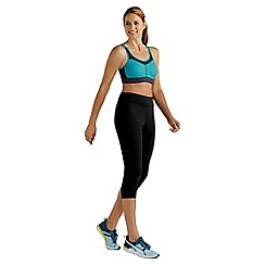 Amoena - Blue 'Power' non-wired non-padded sports bra