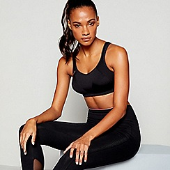 Shock Absorber - Black non-wired non-padded sports bra