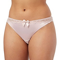 Ultimate - Pink lace thong