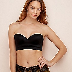 The Collection - Black mesh underwired padded multi-way bra