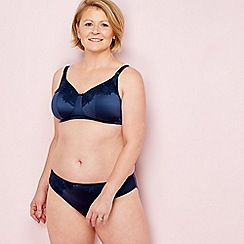 Spirit Post Surgery - Navy lace non-wired non-padded post-surgery bra