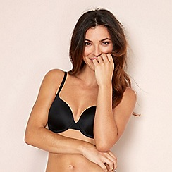 The Collection - Black Invisible underwired padded t-shirt bra