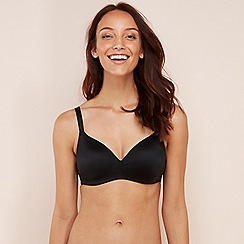 The Collection - Black Non-Wired Padded T-Shirt Bra